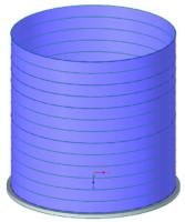 Offener Flüssigkeitsbehälter